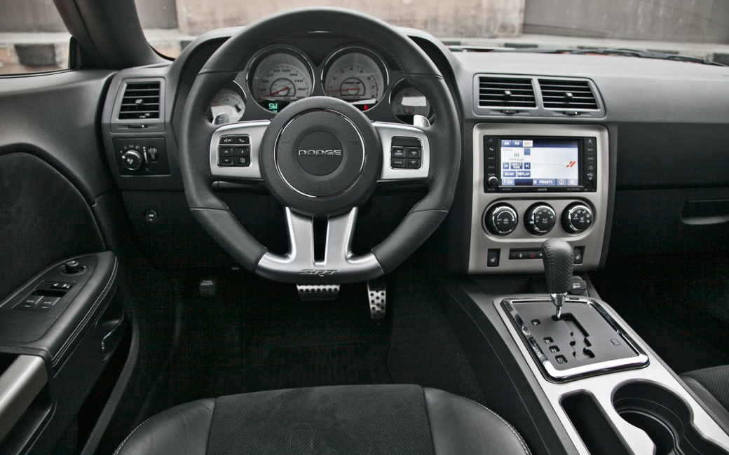 2012-Dodge-Challenger-SRT8-Interior