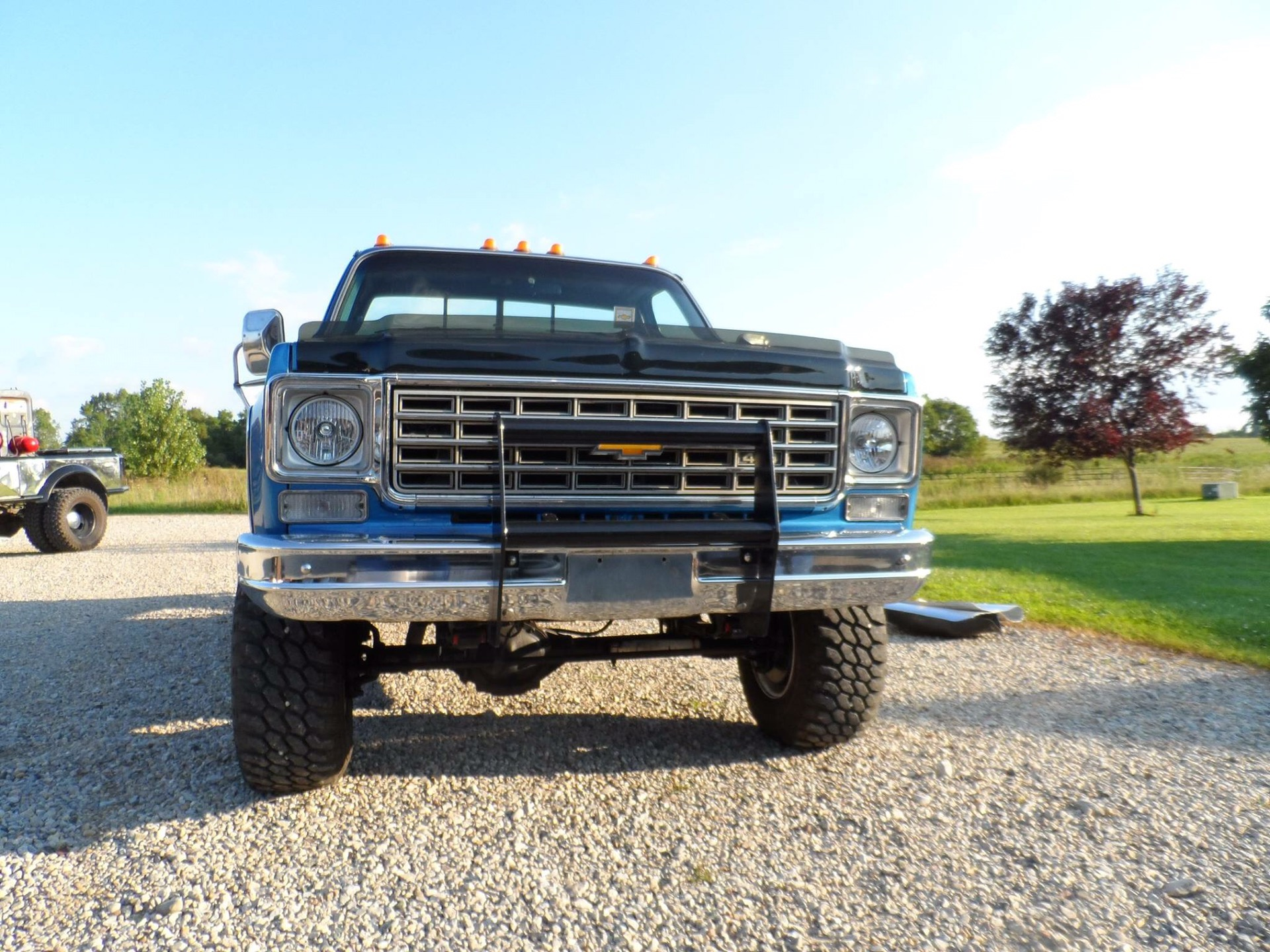 1976 Chevy Silverado Car Auto Trucks Fuel System He Had Bought For His Son Graduation And The Drove 3 4 Months Decided Did Not Want Truck Anymore Was Driven Very Little So